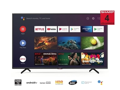 "65"" 4K Ultra HD Android TV sprejemnik Sharp 65BN5EA"