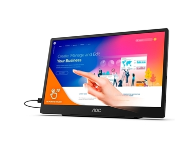 "Monitor na dotik AOC 16T2 (15.6"", IPS Full HD) Style-line"