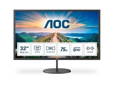 """LED monitor AOC Q32V4 (31.5"""" QHD IPS) Value-line"""