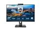 "LED monitor Philips 243B1JH s priključno postajo USB-C (23,8"" FHD IPS kamera) Serija B"