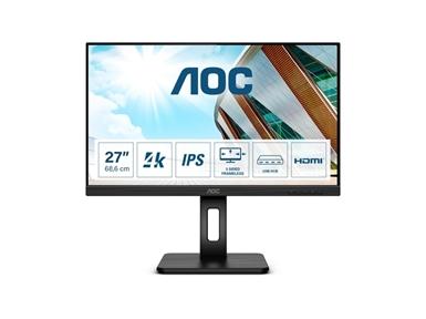 """LED monitor AOC U27P2CA (27""""  4K UHD, IPS) Pro-line"""