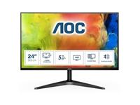 "LED monitor AOC 24B1H (23,6"" FHD, MVA) Basic-line"